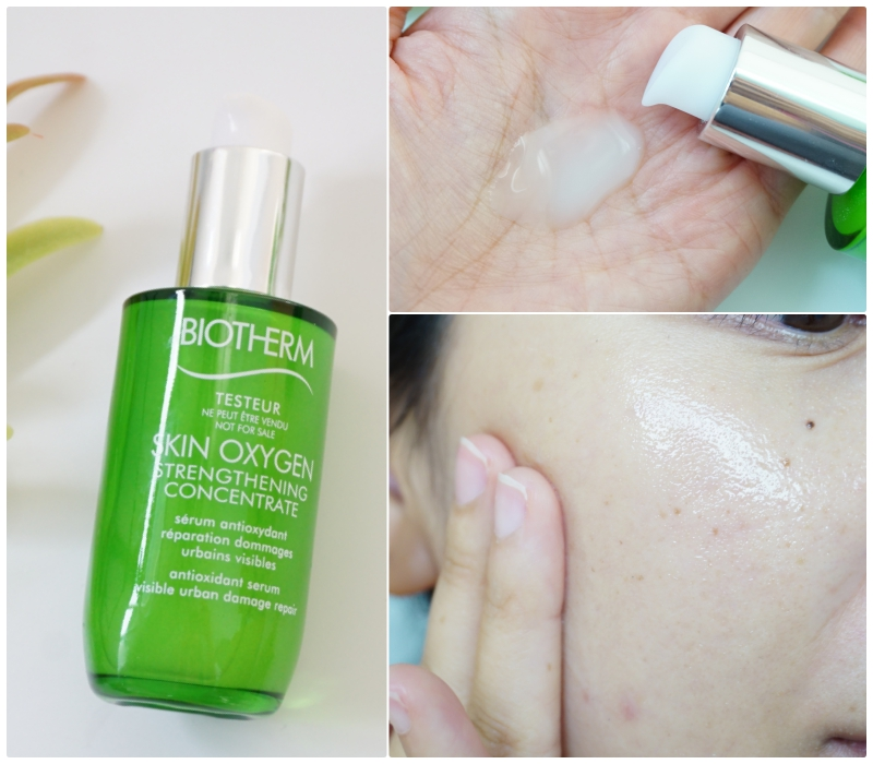 ผลการค้นหารูปภาพสำหรับ Biotherm Skin Oxygen Strengthening Concentrate