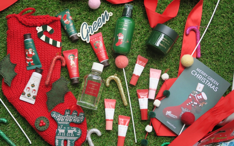 Review: Innisfree Green Christmas 2018