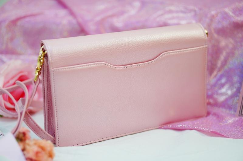 กระเป๋าผู้หญิง สีชมพู