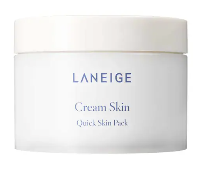 ชีทแพค Laneige Cream Skin Quick Skin Pack