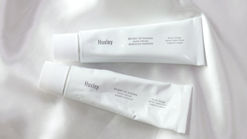 review handcream huxley