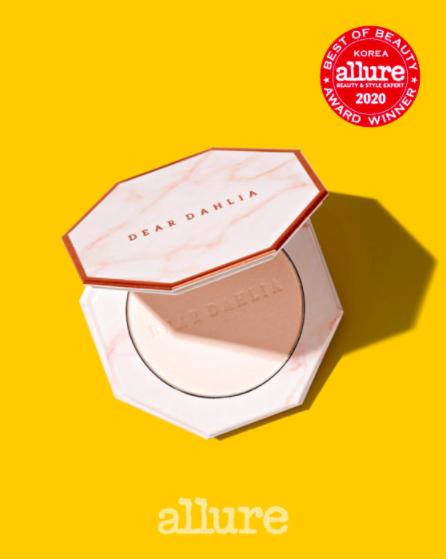 Dear Dahlia Blooming Edition Skin Paradise Soft Focus Shine Control Powder