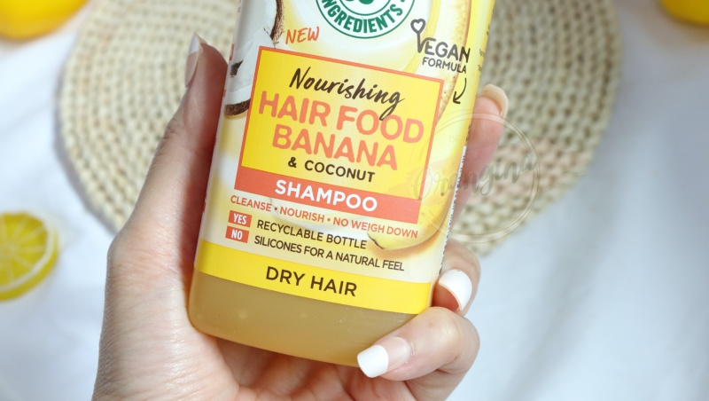 hair food banana shampoo