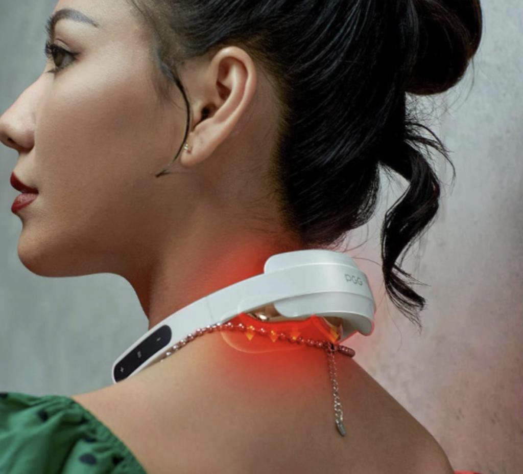 [New 2020] Xiaomi Pgg Folding Portable Neck Massager 5 Modes