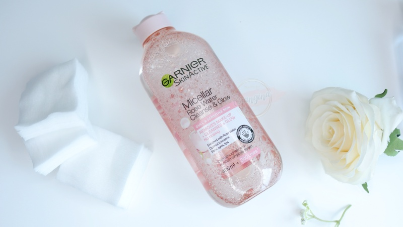 Garnier Micellar Rose Water Cleanse & Glow
