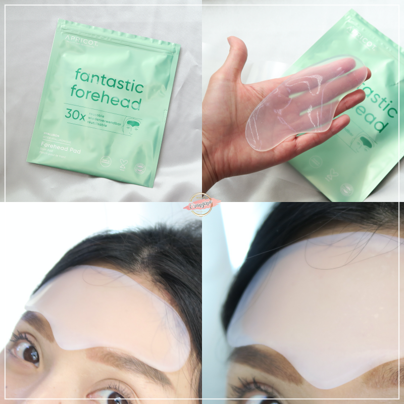 FOREHEAD PAD WITH HYALURON