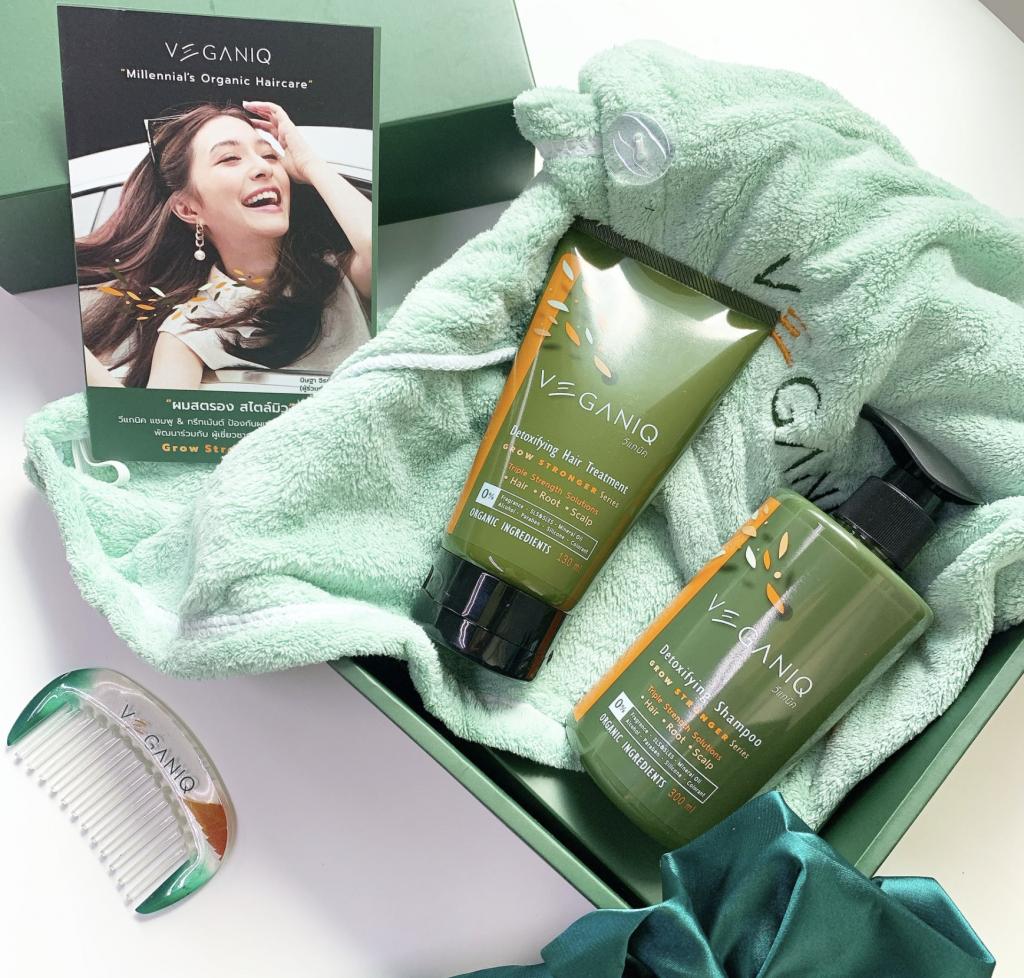 Veganiq Detoxifying Shampoo & Hair Treatment