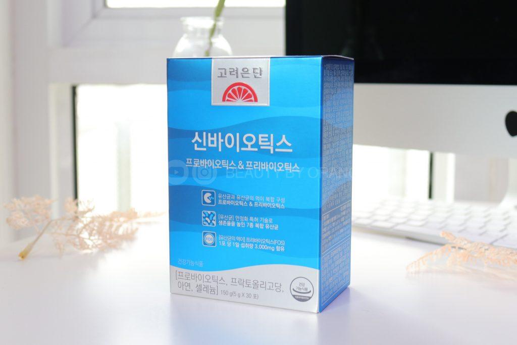 korea eundan synbiotic รีวิว