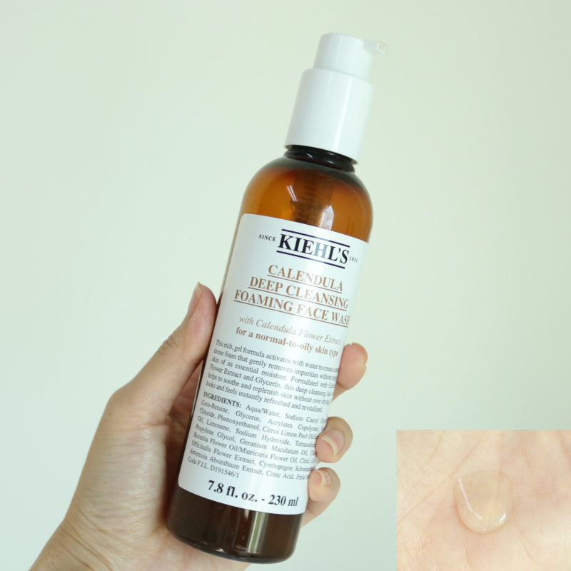 Kiehl's Calendula Deep Cleansing Foaming Face Wash