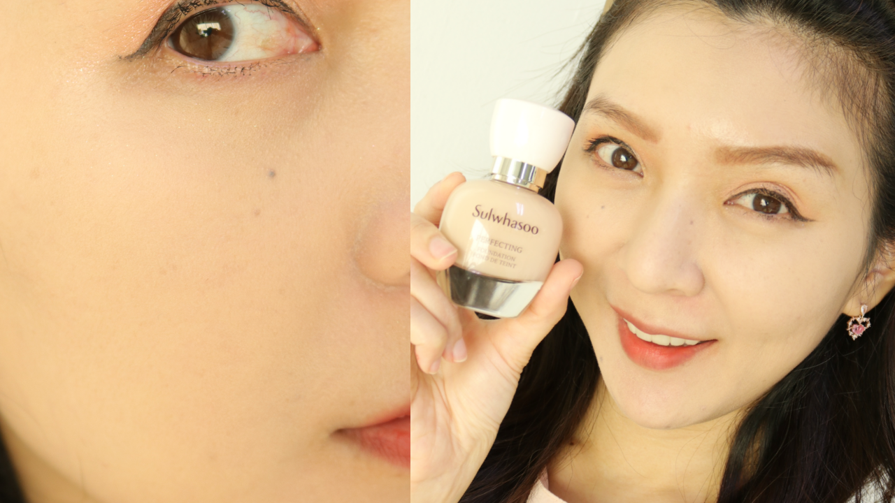 sulwhasoo perfecting foundation review